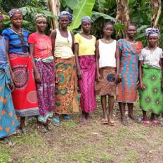 Maborie's Best Female Farmers Group