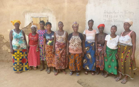 photo of Mbalu's Best Female Farmers Group
