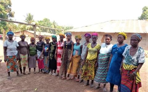 photo of Aminata's Female Farmers Group