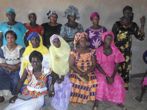 photo of Mariéme's Group