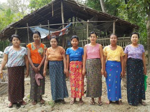 photo of Ah Se' Ka Lay-1 (B) Village Group