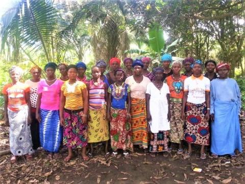 photo of Aunty Aminata's Surivors Group