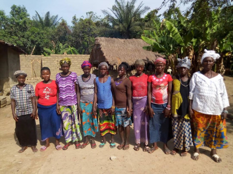 photo of Mabinty's Best Female Farmers Group