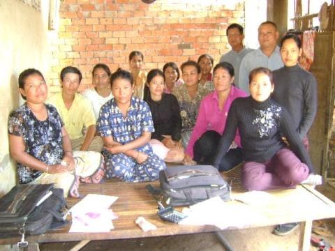 photo of Mr. Loch Chantha Village Bank Group
