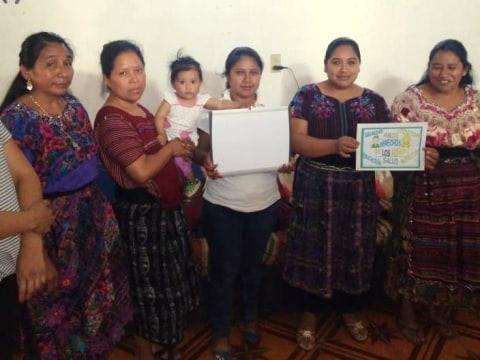 photo of Santa Isabel Xenacoj Group