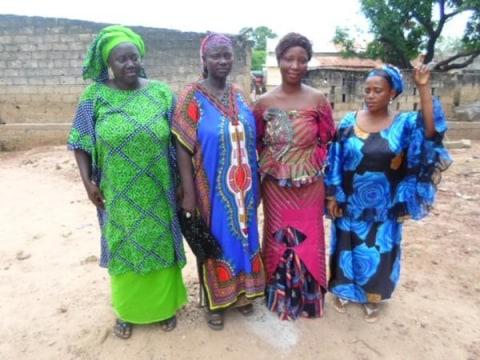 photo of Ramatoulaye's Group