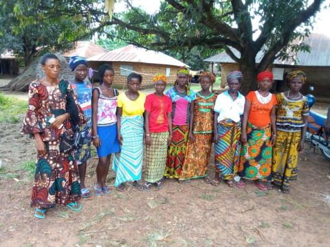 photo of Mary's Female Farmers Group