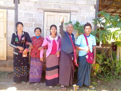photo of U Thar Kan-2A Village Group