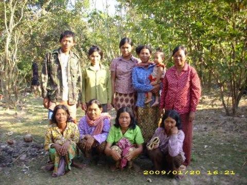 photo of Mrs. Tom Mil Village Bank Group