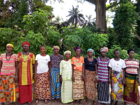 """photo of """"Togetherness"""" Female Farmers Group"""