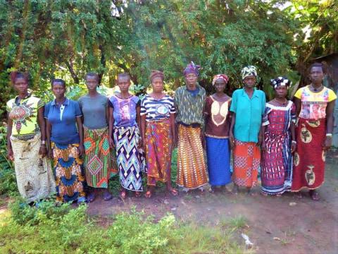 photo of Ramatu's Female Farmers Group