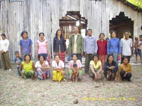 photo of Mr. Sarum Prak Village Bank Group