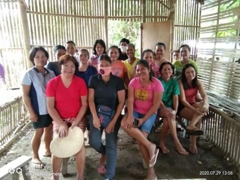 photo of Ctr 87Camp Clark Association Group
