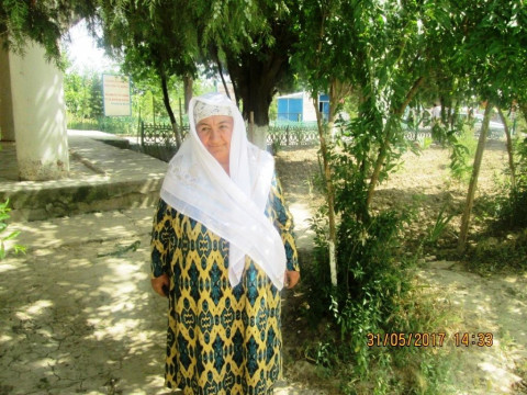 photo of Zebiniso