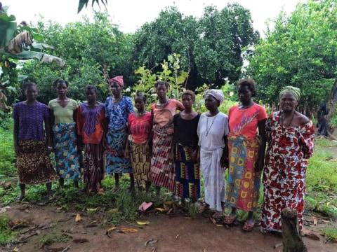 photo of Zainab's Female Farmers Group