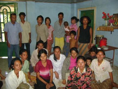 photo of Mrs. Pengphalla Sok Village Bank Group