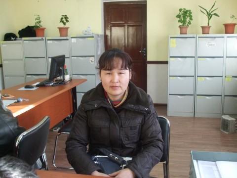 photo of Enhtsetseg