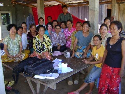 photo of Mrs. Suosdei Meoung Village Bank Group
