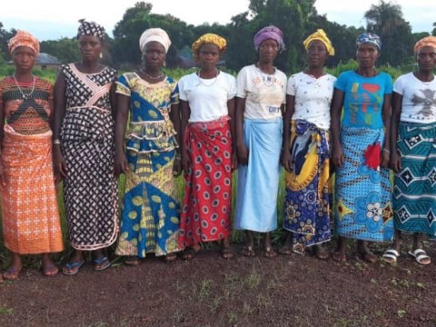 photo of Isatu's Female Farmers Group