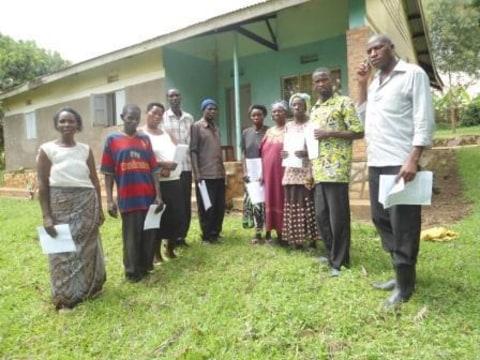 photo of Kyabagyerwa Church Group