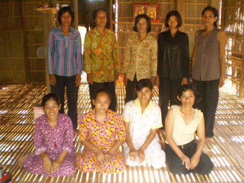 photo of Mrs. Goun Touch  Village Bank Group