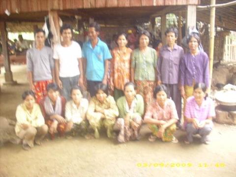 photo of Mrs. Phy Hong Village Bank Group