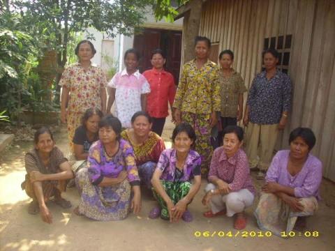 photo of Mrs. Chantha Tann Village Bank Group