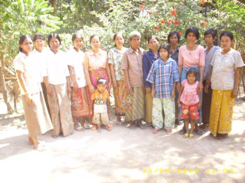 photo of Mrs. Phalla Phen Village Bank Group