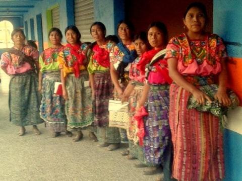 photo of Monja Blanca Sacapulas Group