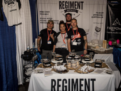 photo of Mel, Andrew, & Mike Of The Regiment Team