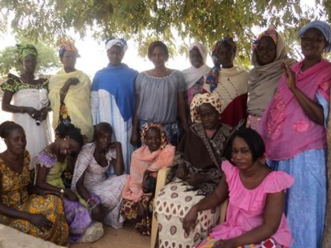 photo of Ndeye Fatou's Group