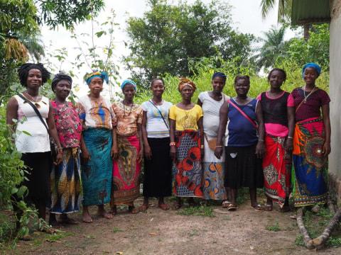 photo of Mariatu's Best Female Farmers Group