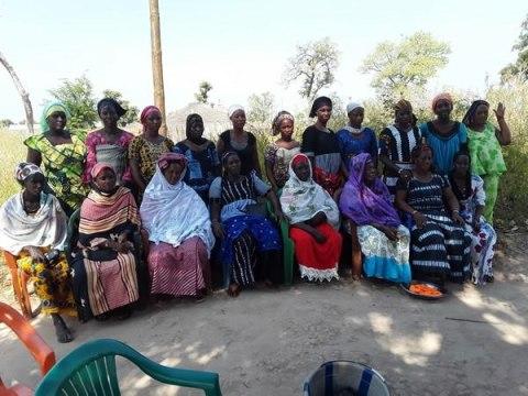 photo of Hama Djiguene's Group