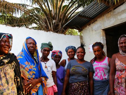 photo of Hawa's Female Traders Group