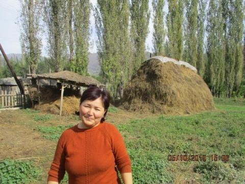 photo of Zhanargul
