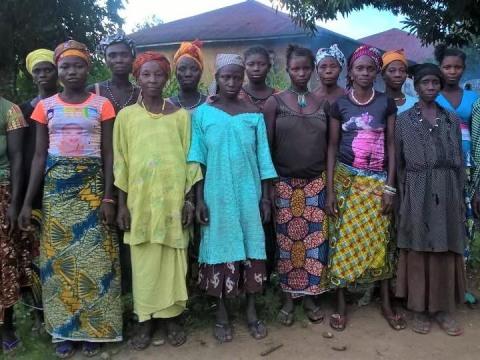 photo of Fatmata D's Female Farmers Group