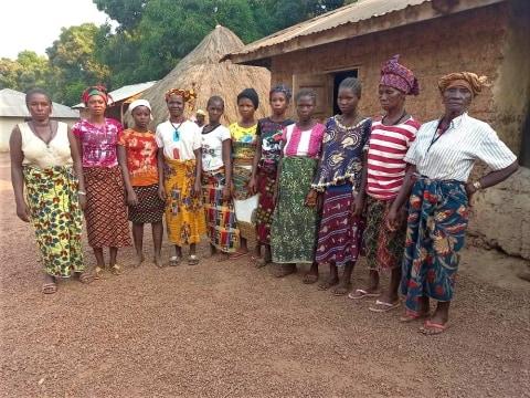photo of Kadiatu's Women Farmers Group