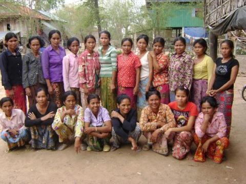 photo of Chhoeun's Group