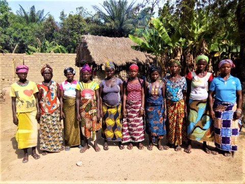 photo of Kadiatu's Female Farmers Group