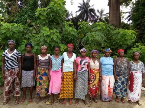 photo of Fatu's Female Farmers Group