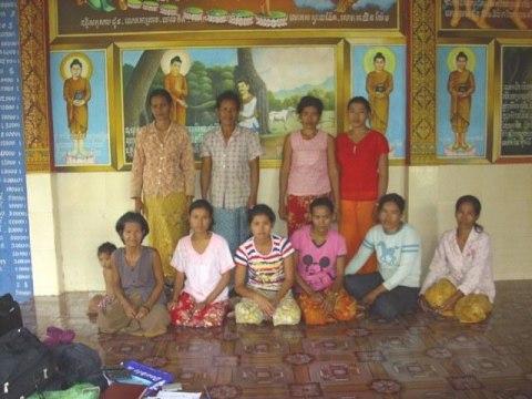 photo of Mrs. Hing Chreb Village Bank Group