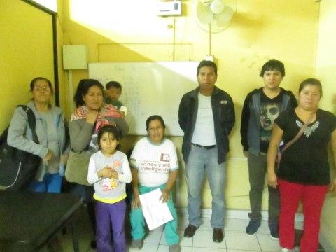 photo of Las Emprendedoras De Abraham Valdelomar Group