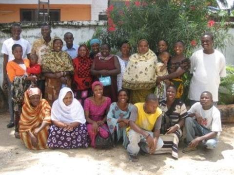 photo of Mwajuma Mohamed's Kanga Group