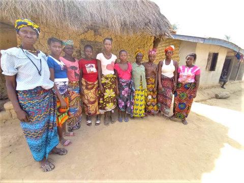 photo of Adama's Female Farmer's Group