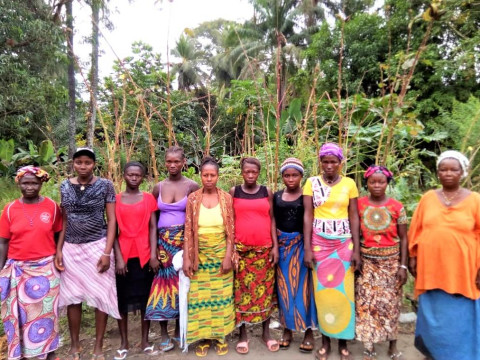 photo of Mariatu's Female Farmers Group