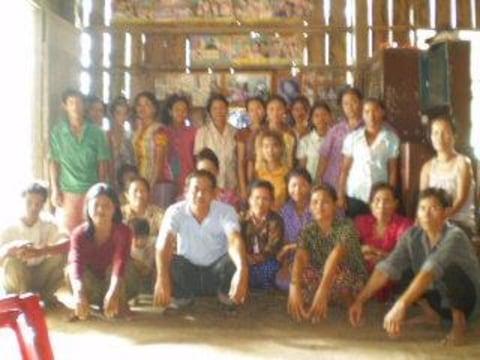 photo of Mrs. Sok Lim Village Bank Group