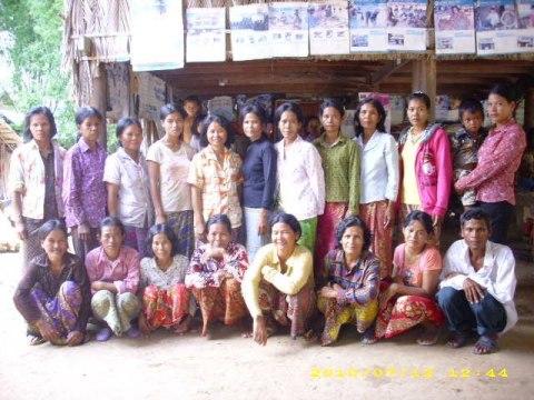 photo of Mrs. Roem Yeak Village Bank Group