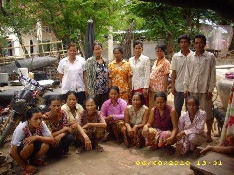 photo of Mrs. Khann Chanthy Village Bank Group