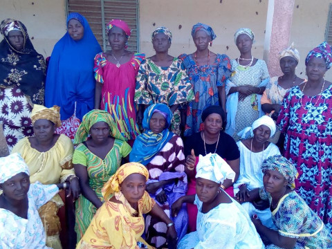 photo of Awa Seckou's Group