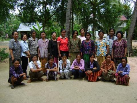 photo of Mrs. Vuoch Lou Kit Village Bank Group